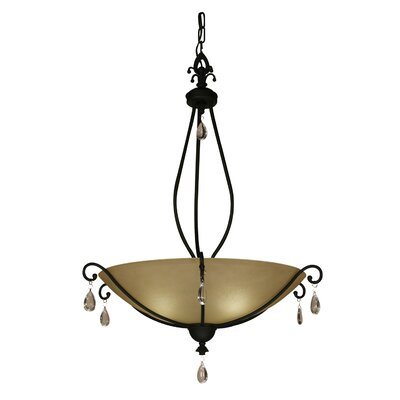 Z-Lite Provence 1 Light Inverted Pendant