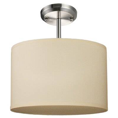 Z-Lite Albion 1 Light Drum Foyer Pendant