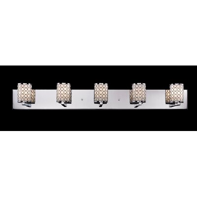Z-Lite Synergy 5 Light Bathroom Vanity Light