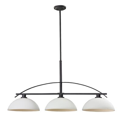 Ellipse 3 Light Kitchen Island Pendant