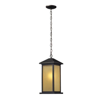 Z-Lite Vienna 1 Light Outdoor Pendant