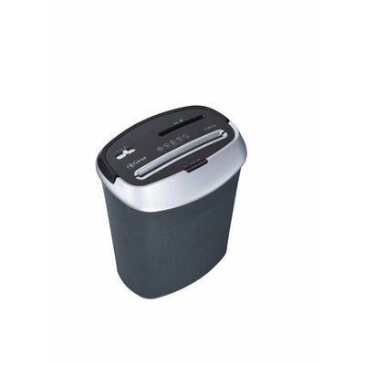 Comet America Paper Shredder 6 Sheet Cross-cut in Black