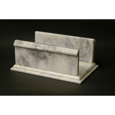 Nature Home Decor Towel Holder in White Marble