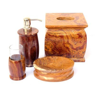 Nature Home Decor Onyx Bath Set (Set of 7)