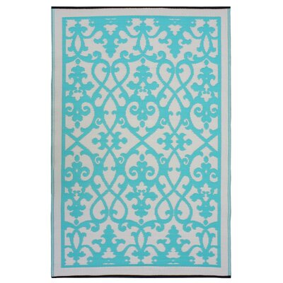 World Venice Cream/Turquoise Rug