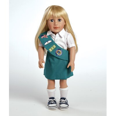 Adora Dolls Play Doll Chloe - Girl Scout Junior Doll and Costume