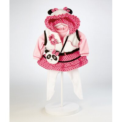"Adora Dolls 20"" Baby Doll Panda Fun Costume"
