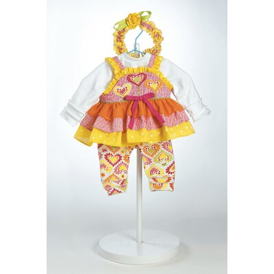 "Adora Dolls 20"" Baby Doll Jelly Beanz Costume"