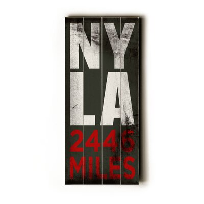 Artehouse LLC NY LA Transit Wood Sign