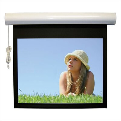"Vutec Matte White Lectric I RF Motorized Screen - 78"" diagonal Video Format"