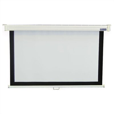 Vutec Econo Pro Manual Wall Front Projection Screen - 60x80""