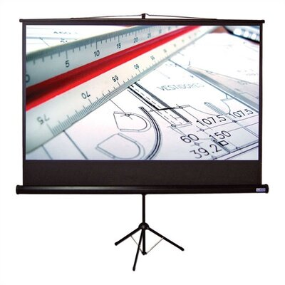 "Vutec Matte White Tripod S Portable Screen - 92"" diagonal HDTV Format"