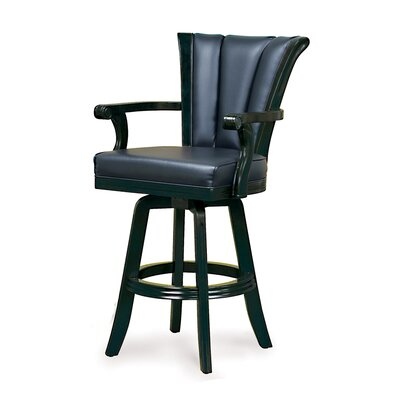 Imperial Black Swivel Pub Chair