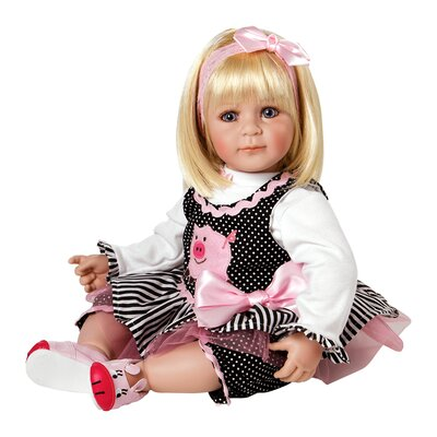 "Charisma Adora ""Oink"" Doll with Light Blond Hair / Blue Eyes"
