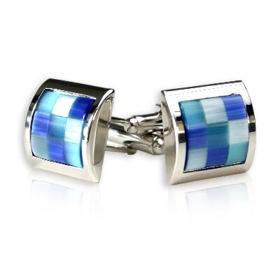Cuff-Daddy Glacier Cufflinks in Blue