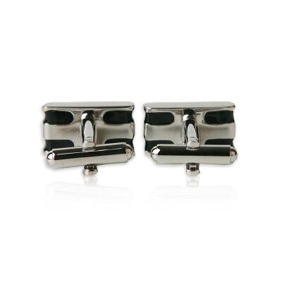 Cuff-Daddy Bar Cufflinks in Black