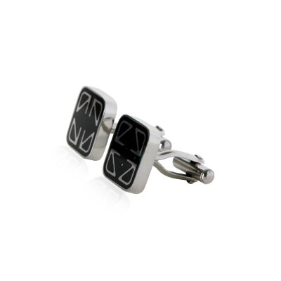 Cuff-Daddy Men's Cufflinks in Stainless Steel