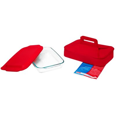Pyrex Portable 4 Piece Set