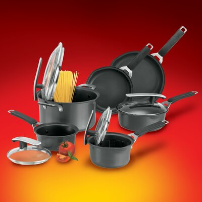 Aluminum 10-Piece Cookware Set