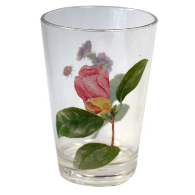 Corelle Coordinates 8 Oz Acrylic Drinkware with Camellia Design (Set of 6)
