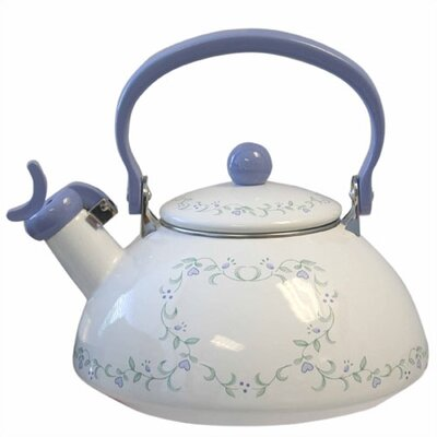 Livingware Country Cottage 2.5-qt. Whistling Tea Kettle