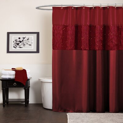 Maria Polyester Shower Curtain