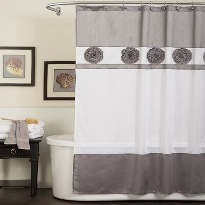 Special Edition by Lush Decor Polyester Seascape Shower Curtain