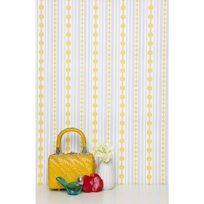 Kimberly Lewis Home Striped Wallpaper