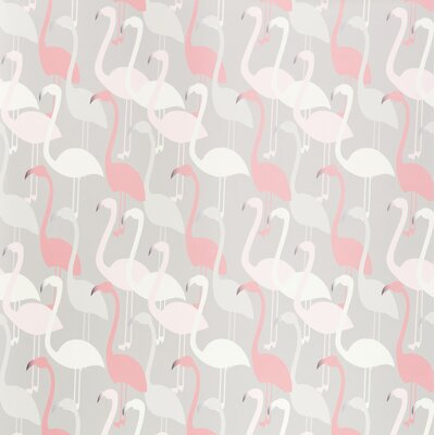 Kimberly Lewis Home Flamingo Dance Wallpaper