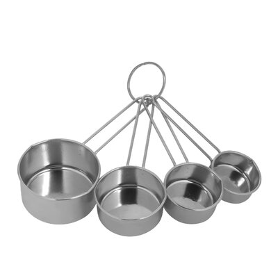 EKCO 4 Piece Stainless Steel Measuring Cup Set (Set of 4)