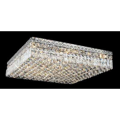 "Elegant Lighting Maxim 13 Light 24"" Flush Mount"