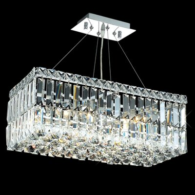 Elegant Lighting Maxim 4 Light Chandelier