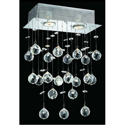 Elegant Lighting Galaxy 2 Light Wall Sconce