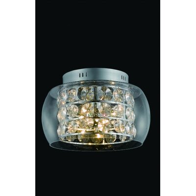 Elegant Lighting Apollo 10 Light Semi Flush Mount