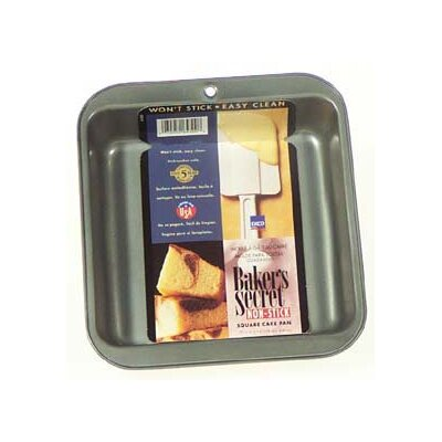 Baker's Secret Square Cake Pan