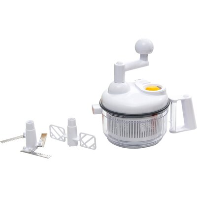 The Premium Connection KitchenWorthy Manual Food Processor