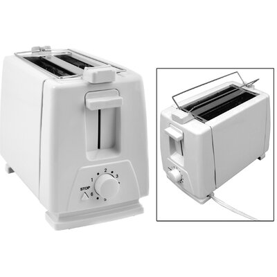 The Premium Connection KitchenWorthy 2 Slice Toaster & Bun Warmer