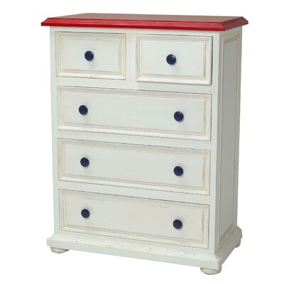 Newport Cottages Taylor Cottage 5-Drawer Chest
