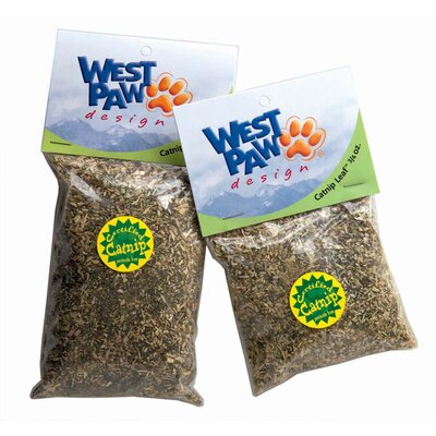 West Paw Design Catnip Leaf