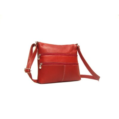 Le Donne Leather Two Zip Crossbody