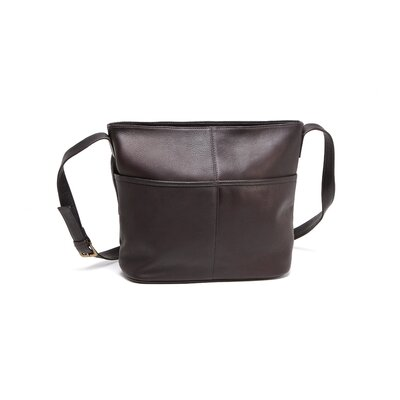 Le Donne Leather Two Slip Pocket Hobo Bag