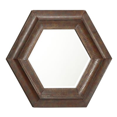 Newport Upholstery Exotique Reptile Etched Mirror