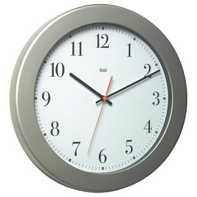 Bai Design Madison Modern Wall Clock in White