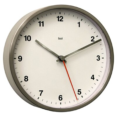 Bai Design Designer Wall Clock in Helio White