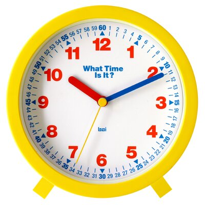 Bai Design What-Time-Is-It Learning Clock