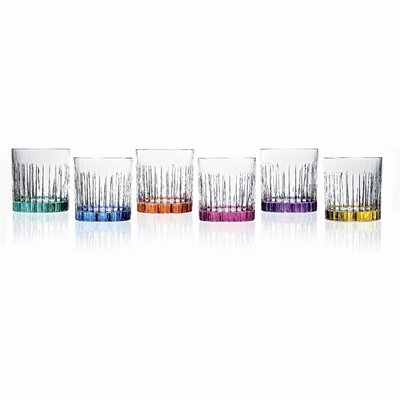 Timeless RCR Crystal Double Old Fashion Glasses (Set of 6)