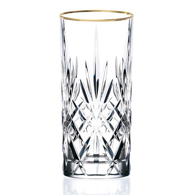 Siena Crystal Water/Beverage/Ice tea Glass (Set of 4)