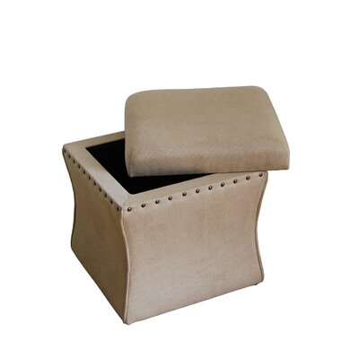 Kinfine Cinch Storage Cube Ottoman