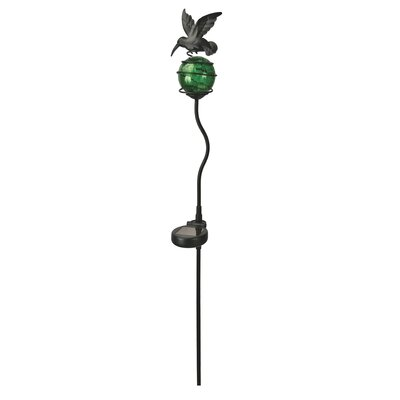 Paradise Garden Lighting Garden Light with Ornamental Metal Hummingbird