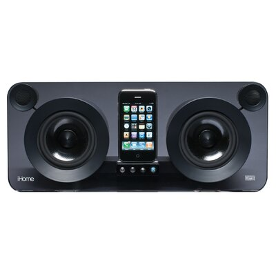 iHome iPod/iPhone Speaker System in Black